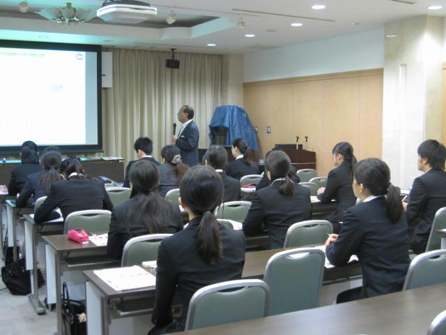 会社研究セミナーを開催しました。