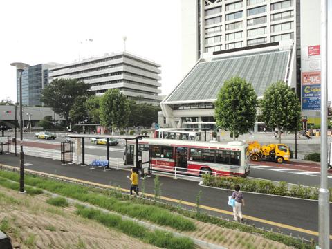 中野駅北口の再整備を見てきました。